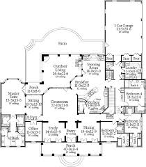 Simple Single Level House Placement by Best 25 One Floor House Plans Ideas On The Great
