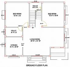 Simple Layout Of A Villa Placement by Column Layout For A Residence Civil Engineering Civil