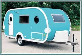 Retro Styling And Space Age Technology Meet In This Cute TB Trailer Photo Courtesy Texas RV Travel Blog