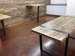 Reclaimed Boxcar Wood Tables | Tables We Love | Pinterest | Boxcar ... Reclaimed Wood Panels Canada Gallery Of Items 1 X 8 Antique Barn Boards 4681012 Mcphee Mcginnity Fniture Kitchen Table For Sale Amazing Rustic Garage Doors Carriage Elite Custom Supply Used Fniture Home Tables Denver New Design Modern 2017 4 Barnwood Frames Fastframe Lodo Expert Picture Framing Love This Reclaimed Wood Wall At Crema Coffee Shop In I Square Luxury House Countertops Photo Agreeable Schiller Salvage Architectural Designing Against The Grain Milehigh Residential Interior With Tapeen Rail