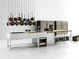 boffi cuisine cuisine cuisine d extérieur en acier inoxydable open by boffi