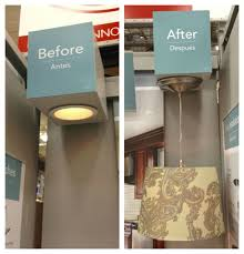Before After Recessed Lighting Converter