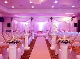 Blue And Purple Wedding Reception Decorations Color Themes For A With Regard To Theme
