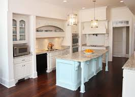 Kitchen French Country Blue And Yellow Light Green Chalk Paint Color White Wooden Cabinets Modern Black