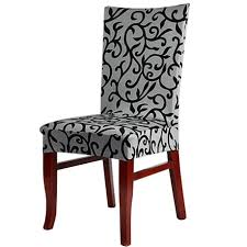 washable chair covers stretch slipcovers short dining room seat