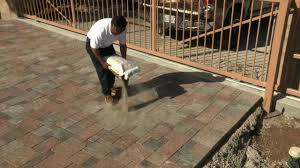 Installing 12x12 Patio Pavers by Techniseal Polymeric Sand For Paver Joints Installation Procedure
