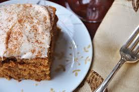 Vegan Spice Cake with Cream Cheese Frosting Veganosity