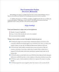 Sample Remodeling Estimate 8 Documents in Word PDF