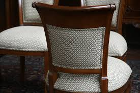 Upholstered Oval Back Dining Room Chairs | Latest Home Decor ... Delightful Reupholster Ding Chair Seat And Back Of 6 Ding Table Chairs How To A With Pictures Wikihow Six Art Deco Chairs French Moustache Use Recover Image Of Casual Reupholstering Room Fabric Pazzodalcarlocom Room 4 Steps We Recover Fully Upholstered In New Fabric Faux Leather The 100 Images How American Midcentury Designed By John Keal Fascating Much To Sofa Do It Yourself