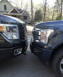 100 Truck Vs Car Diesel Battle F150 Diesel Nissan Titan XD