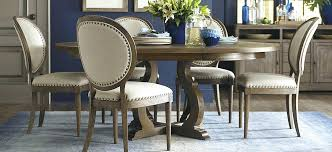 Round Dining Room Chairs Table Upholstered With Regard To Target Decor