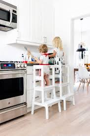 Ikea Hack: Toddler Learning Tower Stool | Happy Grey Lucky Counter High Chairs Simplyfitboardgq Modern Solid Wood Baby Chair By Be Mindful Httpswww Tripp Trapp White Nook Compact Fold Fake Nino For Sinks Oceana Islands Blender Decor Height Child Antilop Chair With Tray Ikea Kitchen Keekaroo Right Kids Comfort Cushion Natural Portable Ding Learning Bloom To Heels