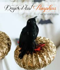 Dryer Vent Pumpkins Tutorial by Halloween Pumpkin Craft