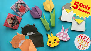 Best 5 Minute Crafts Quick Easy Origami Projects DIYs