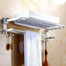 badezimmer regal bad ablage dusche handtuchhalter 60 cm