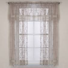 Bed Bath And Beyond Curtains And Drapes by Buy Lace Curtain Panels From Bed Bath U0026 Beyond