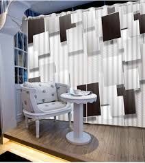 White And Gray Striped Curtains by Black And White Window Treatments Black And White Stripes And