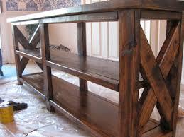 Ana White Sofa Table by Building A Sofa Table Hometalk