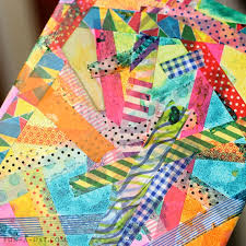 Love This Tape And Watercolor Art Project For Kids