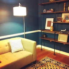 Threshold Arc Floor Lamp by Threshold 3 Globe Arc Floor Lamp Antique Brass Tag Brass Arc
