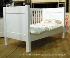 chambre bebe bois massif lit bébé évolutif classics 70 x 140 cm mathy by bols