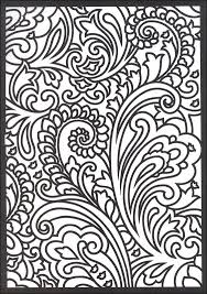 Paisley Designs Stained Glass Coloring Book Creative Haven Images