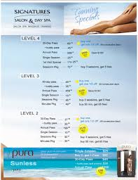 Uvb Tanning Beds by Tanning Specials Signatures Salon And Day Spa Altoona Ia