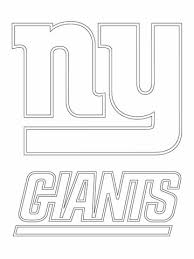 Click To See Printable Version Of New York Giants Logo Coloring Page