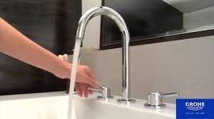 Grohe Concetto Kitchen Faucet Manual by Grohe 20217001 Concetto Bathroom Faucet Youtube