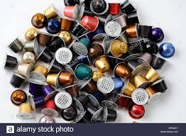 Spent Or Used Empty Nespresso Capsules Coffee Aluminium Raw Material Recycling