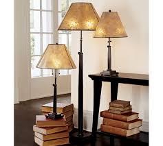 Pottery Barn Floor Lamp Shades by Adjustable Column Floor Lamp Base Pottery Barn