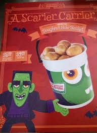 Sesame Street A Magical Halloween Adventure Vhs by Wonderful Wonderblog Krispy Kreme Halloween Doughnuts