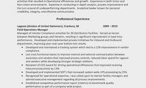 Sample Resume For Supervisor In Warehouse New