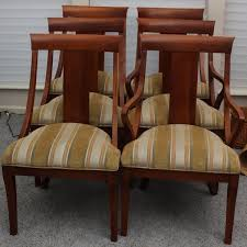 modern ethan allen medallion dining chair set dining chairs