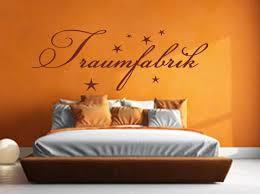 wandtattoo traumfabrik wallart wandaufkleber schlafzimmer bett deko spruch zitat worte deko aufkleber wa 111