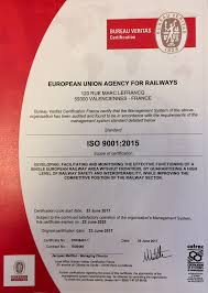 bureau veritas valenciennes eu agencyforrailways on now it is official iso