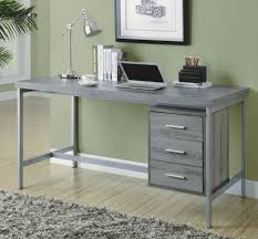 monarch specialties inc corner desk dark taupe i computer white