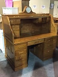 Ethan Allen Dark Pine Roll Top Desk by Oak 2 Piece Roll Top Desk Aspen Classics Sku 4ga6pj Primary
