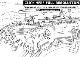 Coloriage Train De Marchandise Coloriages à Imprimer Gratuits