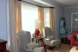 Living Room Curtain Ideas Beige Furniture by Comely Window Curtain Ideas Large Windows Decoration With Living