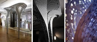 100 Tonkin Architects Parametric Controversy Lius Lace Shell Exhibit At The RIBA