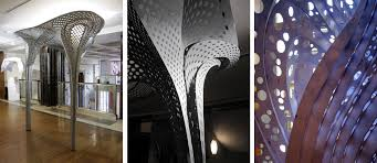 100 Tonkin Architects Parametric Controversy Lius Lace Shell Exhibit At
