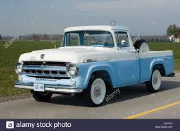 1957 Ford F-100 Pick Up Truck Stock Photo: 5963523 - Alamy Ringbrothers Ford F100 Bows Sema 2017 Authority M2 Machines Automods Release 6 1969 Ranger Truck 1957 Pickup Hot Rod Network 1951 Stock T20149 For Sale Near Columbus Oh Why Nows The Time To Invest In A Vintage Bloomberg 1960 Forgotten Effie Photo Image Gallery Greenlight Allterrain Series Fordf100inspired Trophy Shows Off Its Brawn In The Desert Big Window Parts Calling All Owners Of 61 68 Trucks 164 Cacola 2 1956 Free 1966