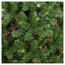 9 Ft Pre Lit Christmas Trees by 9ft Prelit Artificial Christmas Tree Alberta Spruce Multicolored