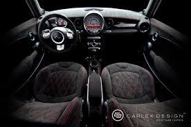100 Cooper Designs Carlex MINI S Custom Interior Autoevolution