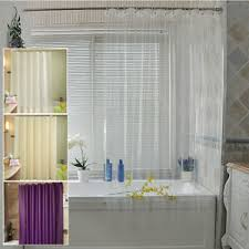 duschvorhang badewannenvorhang peva badezimmer vorhang mit