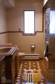 Beige Bathroom Tile Ideas by Beige Bathroom Tile Wall Mounted Vanity With Marble Top Brown
