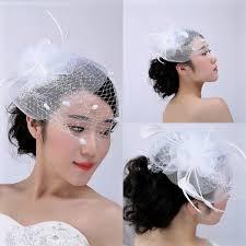 white face veil cheap bridal hats 2016 vintage bridal accessories