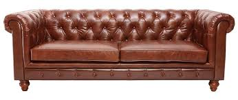 canap cuir 3 places canapé cuir vintage 3 places chesterfield miliboo