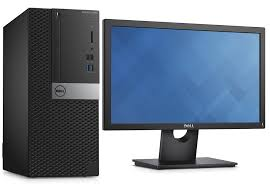 dell ordinateur de bureau pc de bureau dell optiplex 3050 i3 7100 ecran dell e2016h